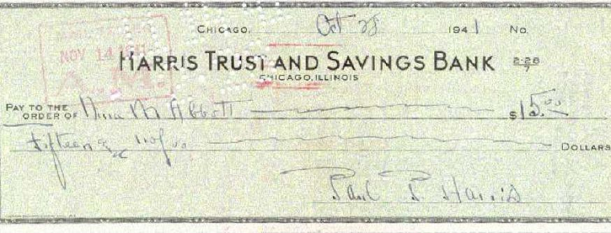 how to write a check to cash