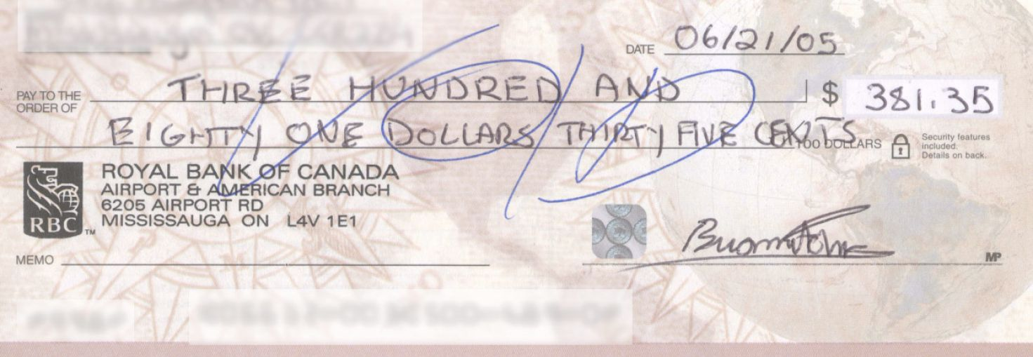 How to Cash a Check Made Out to Cash