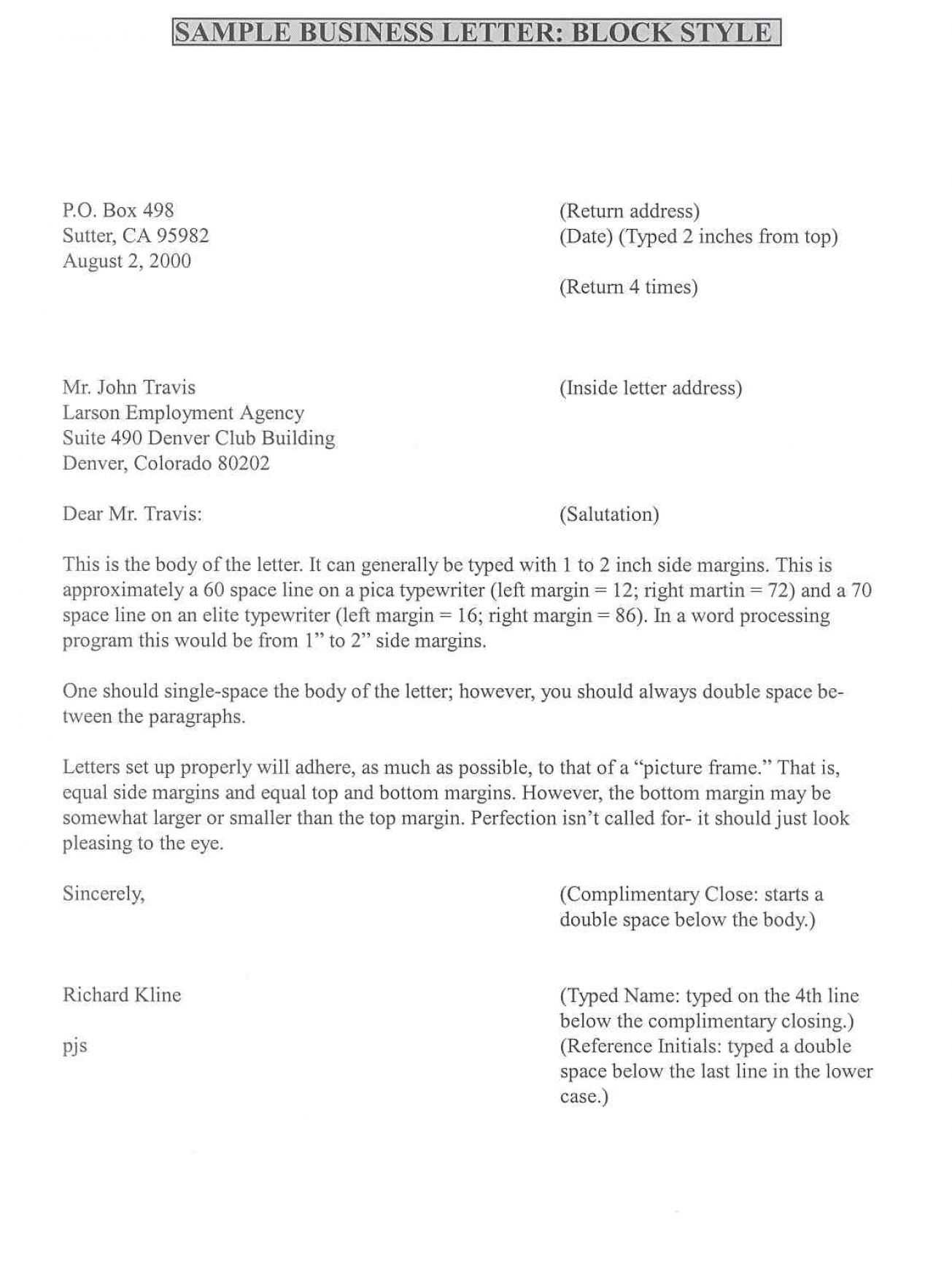 Formal complaint letter for Formal letter of complaint to employer template