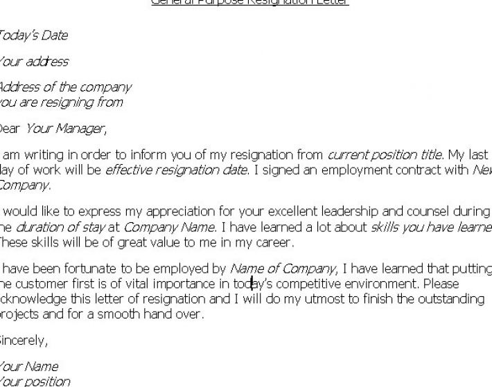 how to write a letter of resignation pictures 3