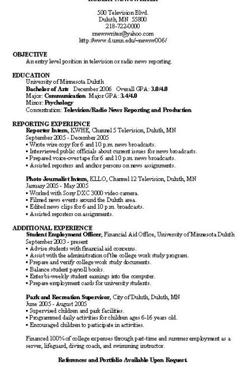 how to write a resume for a job example pictures 1