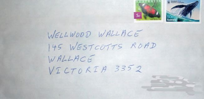 How to address mail