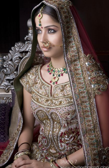Magnificent Indian Hair Jewelry for Bride 437 x 670 · 69 kB · jpeg