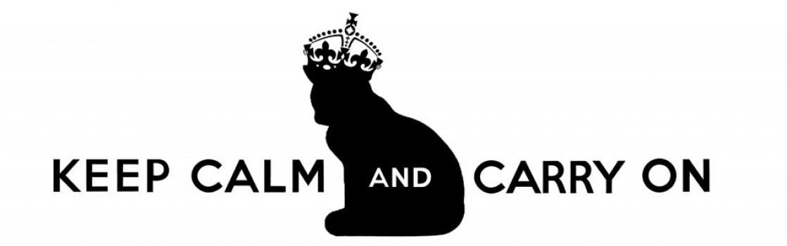 keep calm and carry on crown symbol 1