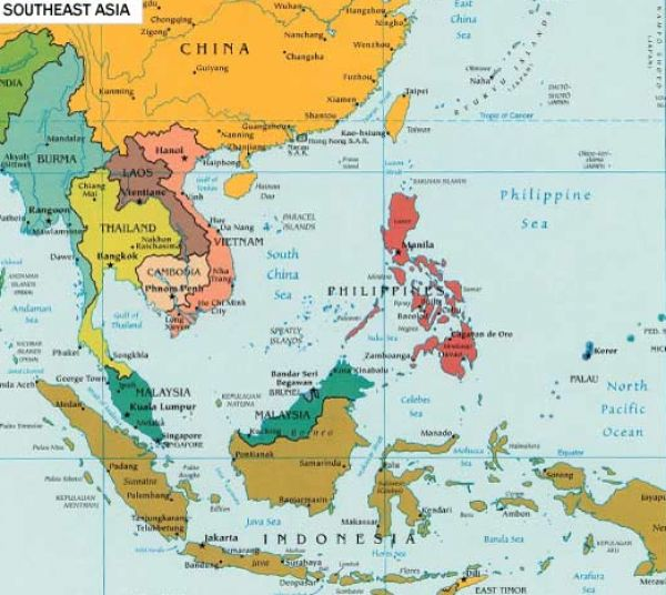 east asia map political. South asia map south asia
