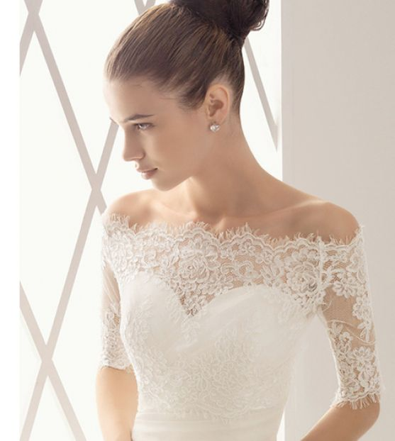 Top Lace Wedding Dresses with Sleeves Jacket 557 x 622 · 34 kB · jpeg