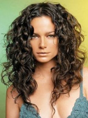 Layered hairstyles for long curly pictures 2