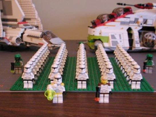 Lego star wars clone army sale plus update pictures 4