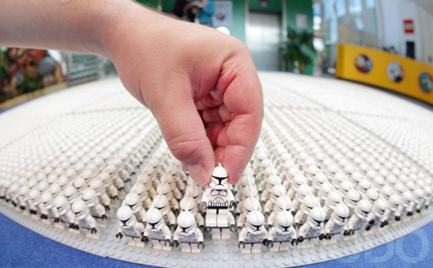 Lego star wars clone trooper base pictures 2