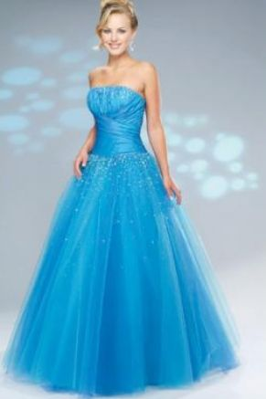 Prom Dress on Light Blue Prom Dress Pictures 2