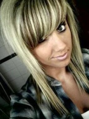 Light brown hair with blonde chunks pictures 1