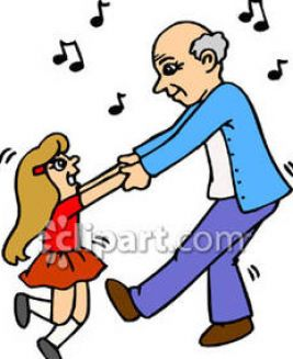 little girl dancing clip art 2