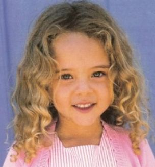 Little girl hairstyles for curly hair pictures 4