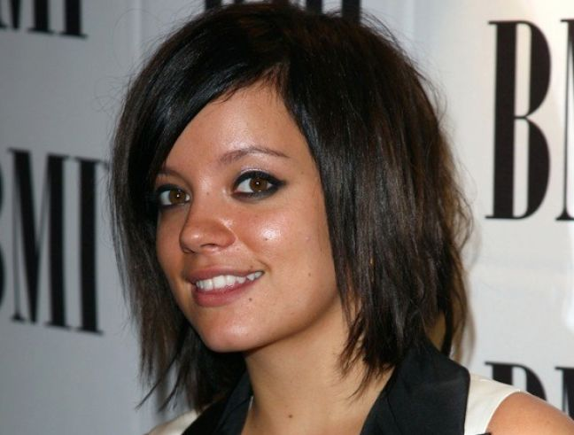 Long choppy bob hairstyles pictures 4