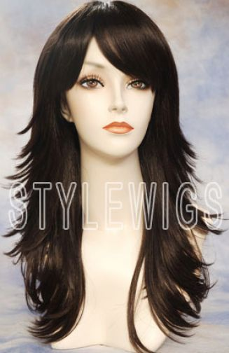 Comlong choppy layered hairstyles with side bangs 4