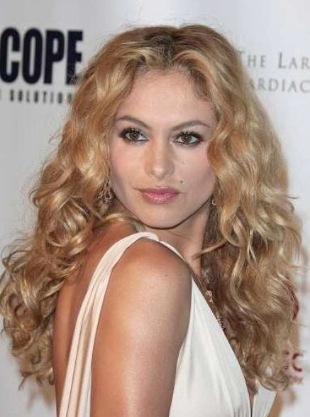 Long Blonde Curly 108