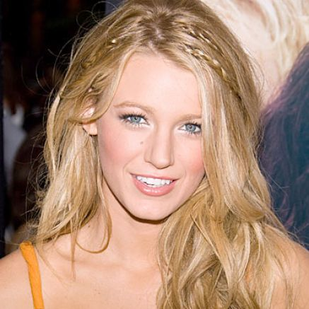blake lively straight hairstyle. lake lively haircut straight