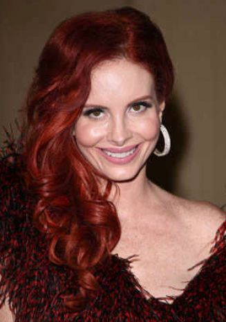 Long curly red hair styles pictures 2