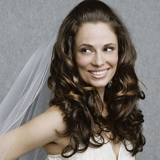 long curly wedding hair styles 2