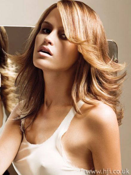 Long Hairstyles with Highlights and Lowlights