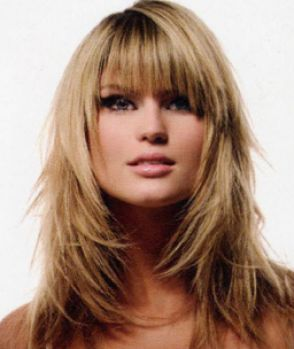 Long layered hairstyles for round faces pictures 4
