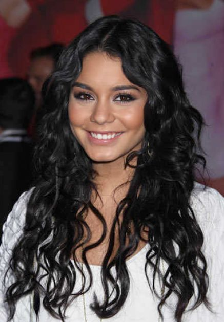 Long wavy brown hair pictures 3