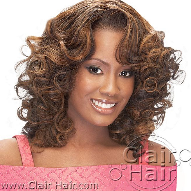 Curly Hair Weave Pictures 40