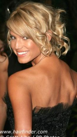 side bun prom hairstyles. Curly low loose un taylor