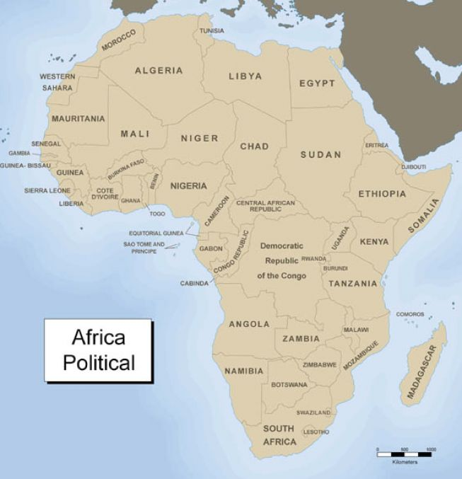 Africa And Its Countries 16