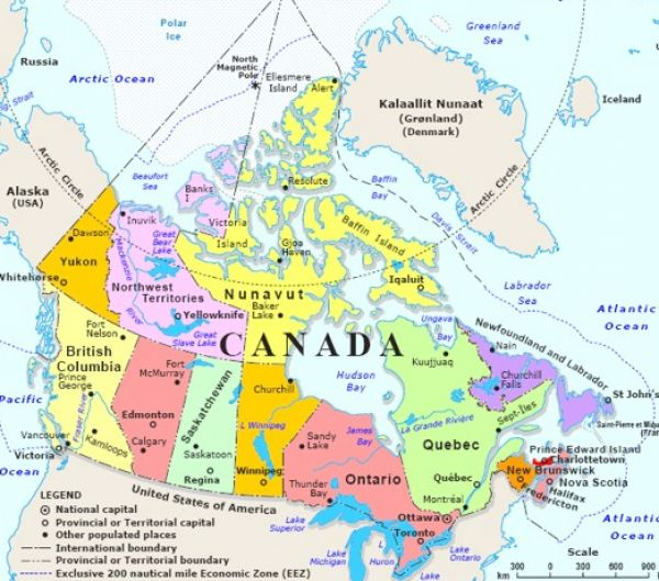 capital cities canada