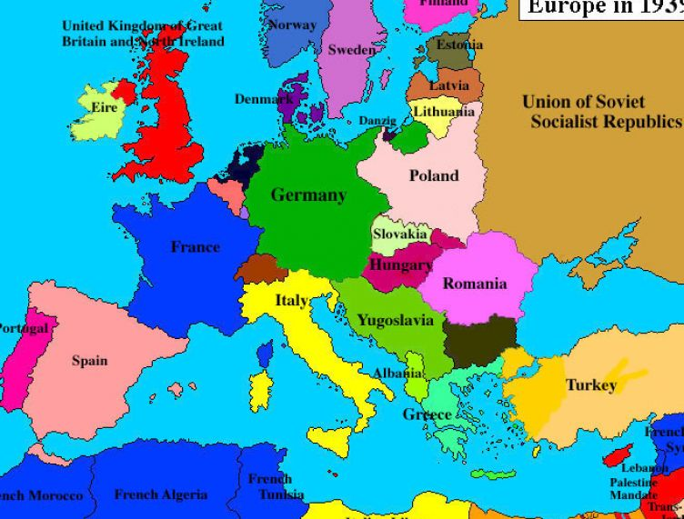 an overview of the world war two in europe during the 1939 The allied forces fought the axis powers on two full-scale war in europe began at dawn on 1 september 1939 more soviet citizens died during world war ii than.