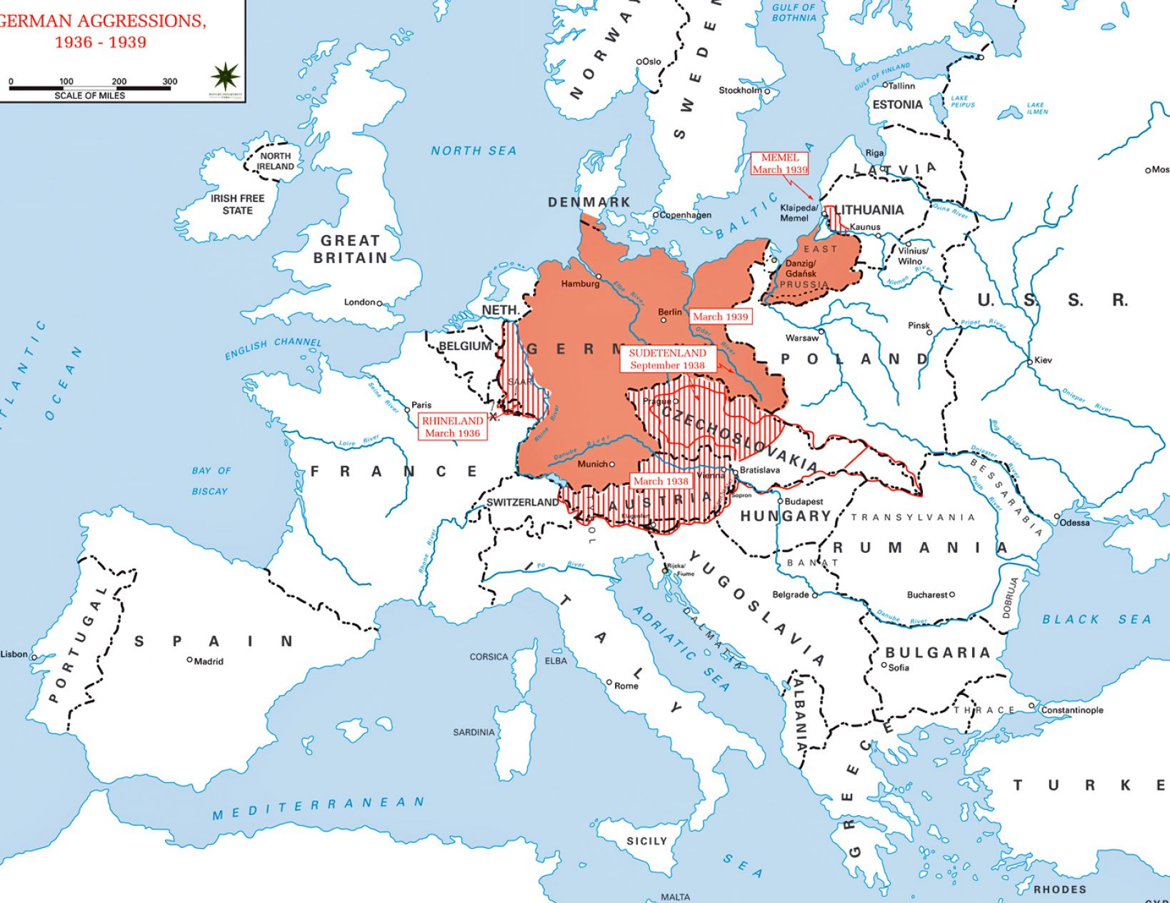 Pin Europe In 1939 on Pinterest