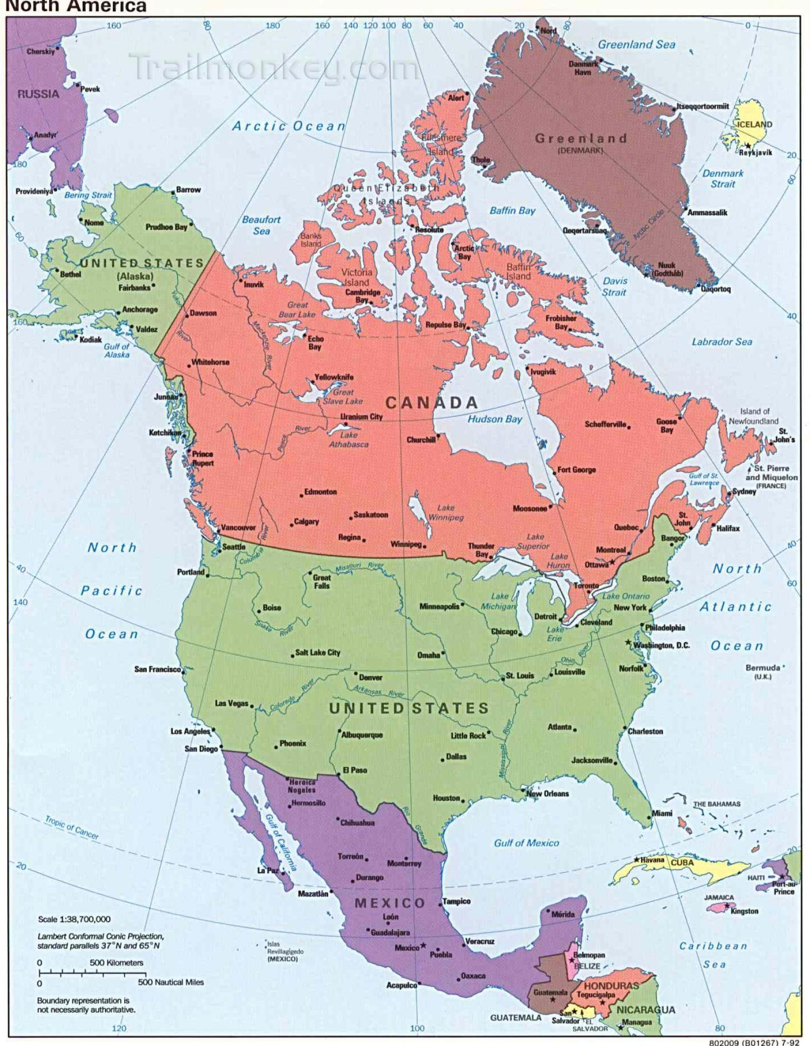 Pin North America And South Map Outline on Pinterest