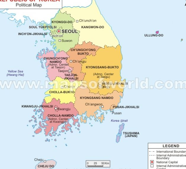 What Is Postal Code For Seoul Korea
