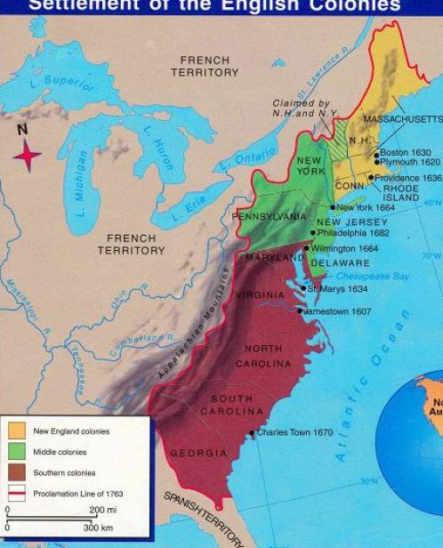 the reasons why england established colonies in american in the 1700s Harvard college was america's first college, founded by puritan main reasons new england colonies were four reasons people came to england's american.