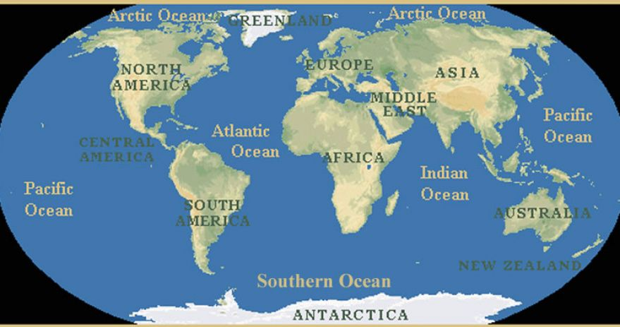 World map continents outline world map outline continents
