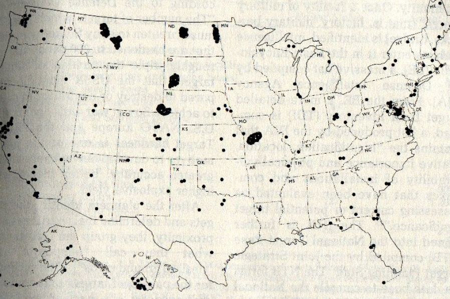 Missile Silo Locations In The United States Pictures To