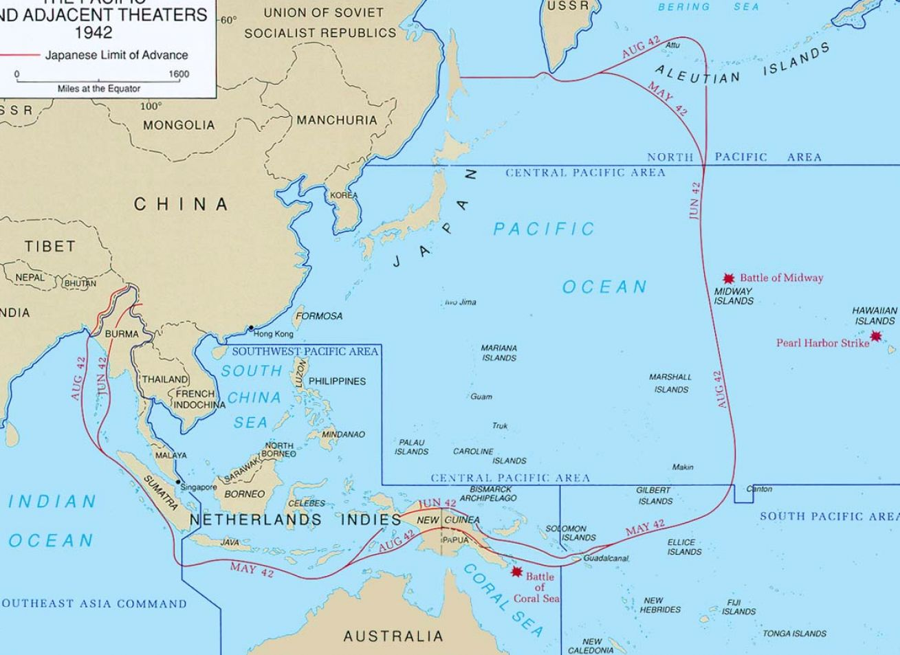 Map of world war 2 pacific pictures 1