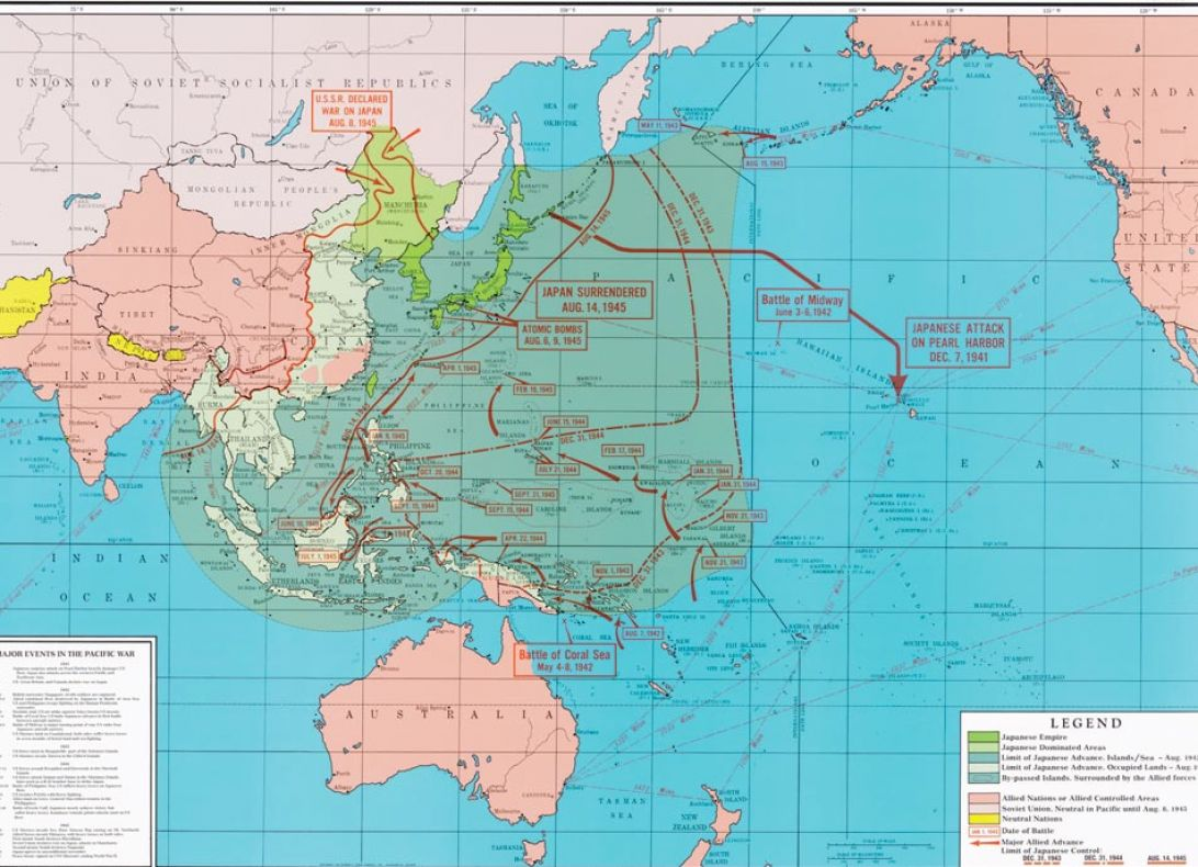 Map of world war 2 pacific pictures 3