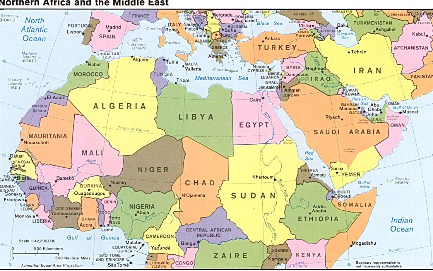 World War 2 Map Europe And North Africa
