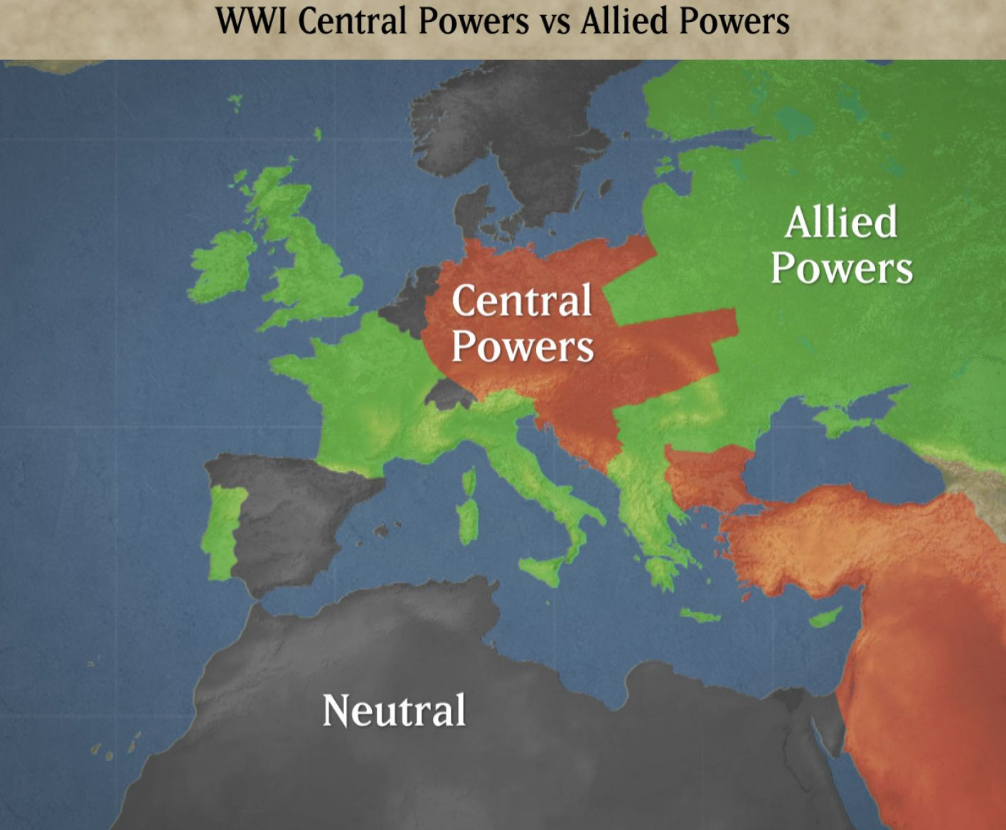 Map of world war one allies pictures 4