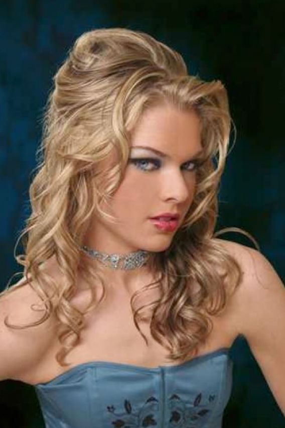 long curly hairstyles for prom. Prom Hairstyles: Medium Curly