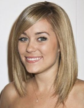Medium hairstyles for thick hair women pictures 1
