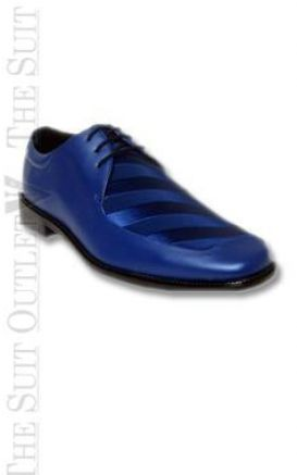 blue dress shoes for images
