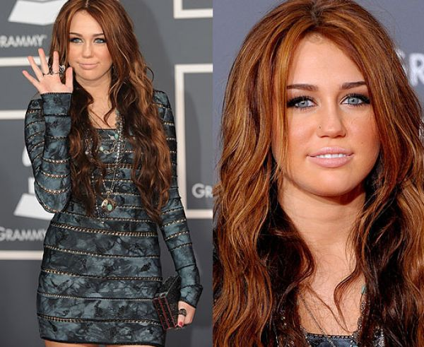 Miley Cyrus Red Hair 2011. Miley cyrus 2011 hair color