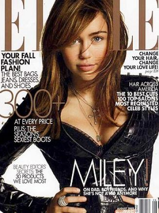 Miley Cyrus  on Miley Cyrus And Her Dad Photo Shoot Pictures 4