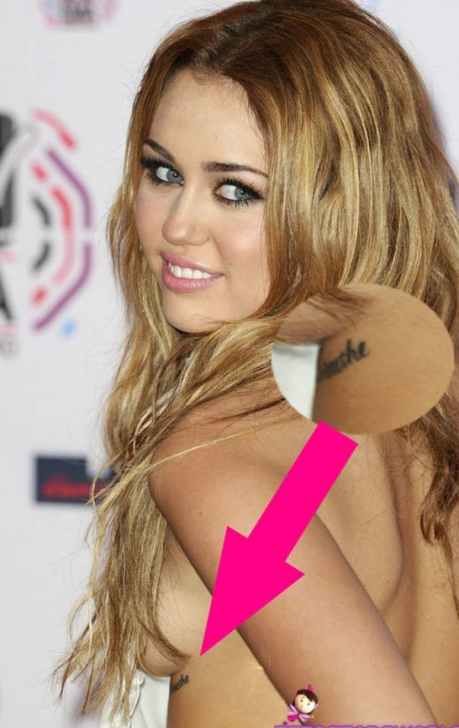 Miley Cyrus New Tattoo