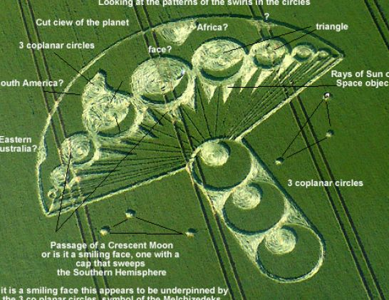 Crop circles most recent celebrity