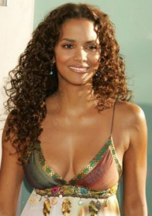 Halle Berry Long Curly Hair