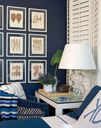 Bedroom on Navy Blue Bedroom Pictures 1